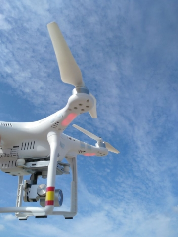 Trabajos Aéreos con Drones